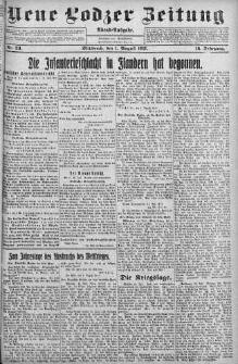 Neue Lodzer Zeitung 1917 m-c 8