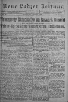 Neue Lodzer Zeitung 1920 m-c 2