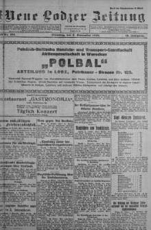 Neue Lodzer Zeitung 1920 m-c 11