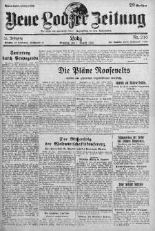 Neue Lodzer Zeitung 1933 m-c 8
