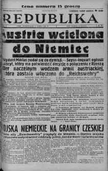 Ilustrowana Republika 14 marzec 1938 nr 72