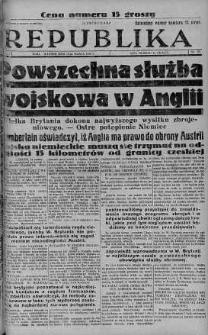 Ilustrowana Republika 15 marzec 1938 nr 73
