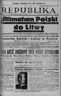 Ilustrowana Republika 18 marzec 1938 nr 76