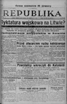 Ilustrowana Republika 23 marzec 1938 nr 81