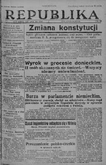 Ilustrowana Republika 7 lipiec 1928 nr 186