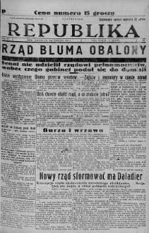 Ilustrowana Republika 9 kwiecień 1938 nr 98
