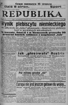 Ilustrowana Republika 11 kwiecień 1938 nr 100