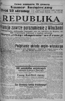 Ilustrowana Republika 16 kwiecień 1938 nr 105