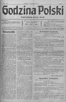 Godzina Polski : dziennik polityczny, społeczny i literacki 13 lipiec 1916 nr 193
