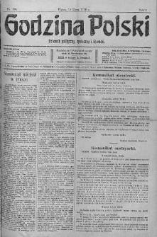 Godzina Polski : dziennik polityczny, społeczny i literacki 14 lipiec 1916 nr 194