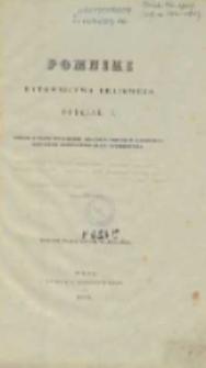 Pomniki rytownictwa krajowego. Oddział 1, odciski z blach mniejszych,znajdujących się w bibliotece łohojskiej Konstantego hrabi Tyszkiewicza