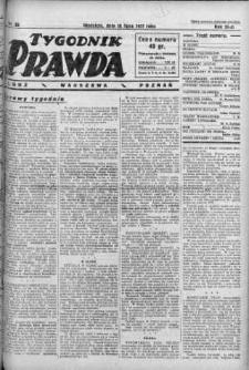 Tygodnik Prawda 10 lipiec 1927 nr 28