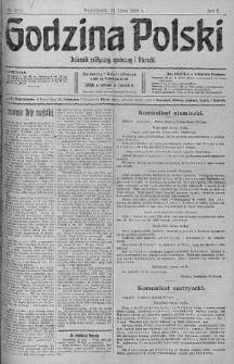 Godzina Polski : dziennik polityczny, społeczny i literacki 31 lipiec 1916 nr 211