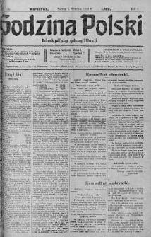 Godzina Polski : dziennik polityczny, społeczny i literacki 2 wrzesień 1916 nr 244