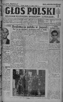 Głos Polski : dziennik polityczny, społeczny i literacki 14 lipiec 1926 nr 191