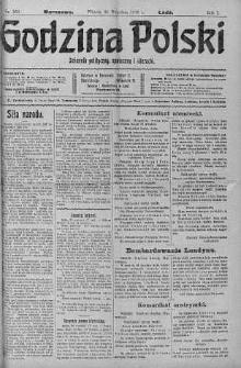 Godzina Polski : dziennik polityczny, społeczny i literacki 26 wrzesień 1916 nr 268