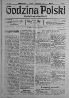 Godzina Polski : dziennik polityczny, społeczny i literacki 7 październik 1916 nr 279