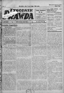 Tygodnik Prawda 3 luty 1929 nr 5