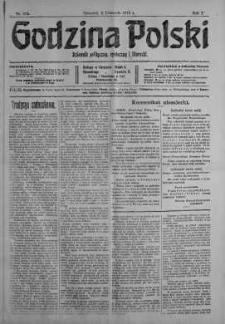 Godzina Polski : dziennik polityczny, społeczny i literacki 2 listopad 1916 nr 305