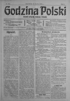 Godzina Polski : dziennik polityczny, społeczny i literacki 11 grudzień 1916 nr 344