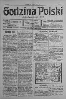 Godzina Polski : dziennik polityczny, społeczny i literacki 16 grudzień 1916 nr 349