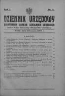 Dziennik Urzędowy Kuratorium Okręgu Szkolnego Łódzkiego: organ Rady Szkolnej Okręgowej Łódzkiej 20 marzec 1928 nr 3