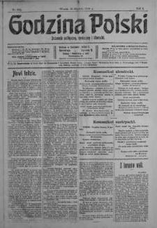 Godzina Polski : dziennik polityczny, społeczny i literacki 19 grudzień 1916 nr 352