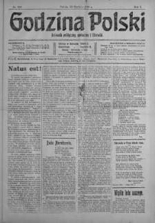 Godzina Polski : dziennik polityczny, społeczny i literacki 23 grudzień 1916 nr 356