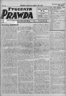 Tygodnik Prawda 29 marzec 1931 nr 13
