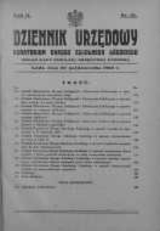 Dziennik Urzędowy Kuratorium Okręgu Szkolnego Łódzkiego: organ Rady Szkolnej Okręgowej Łódzkiej 20 październik 1928 nr 10