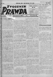 Tygodnik Prawda 7 czerwiec 1931 nr 23