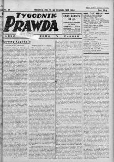 Tygodnik Prawda 15 listopad 1931 nr 46