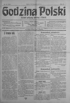 Godzina Polski : dziennik polityczny, społeczny i literacki 26 styczeń 1917 nr 24