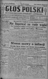 Głos Polski : dziennik polityczny, społeczny i literacki 9 październik 1926 nr 278