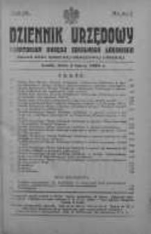 Dziennik Urzędowy Kuratorium Okręgu Szkolnego Łódzkiego: organ Rady Szkolnej Okręgowej Łódzkiej 5 lipiec 1929 nr 6 i 7