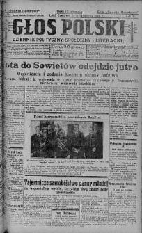 Głos Polski : dziennik polityczny, społeczny i literacki 21 październik 1926 nr 290