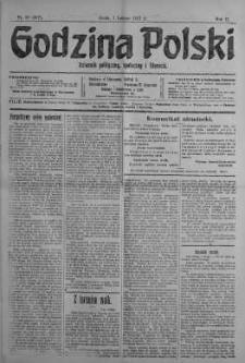 Godzina Polski : dziennik polityczny, społeczny i literacki 7 luty 1917 nr 36