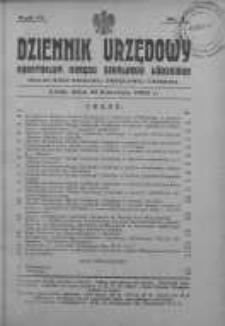 Dziennik Urzędowy Kuratorium Okręgu Szkolnego Łódzkiego: organ Rady Szkolnej Okręgowej Łódzkiej 22 kwiecień 1930 nr 4