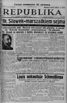 Ilustrowana Republika 23 czerwiec 1938 nr 170