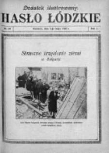 Dodatek Ilustrowany. Hasło Łódzkie 1928, R. 2, Nr 19