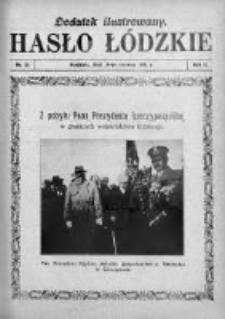 Dodatek Ilustrowany. Hasło Łódzkie 1928, R. 2, Nr 24