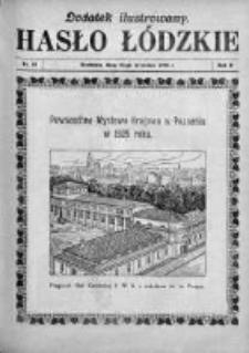 Dodatek Ilustrowany. Hasło Łódzkie 1928, R. 2, Nr 40