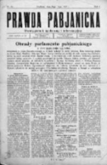 Prawda Pabianicka 1933, Nr 15