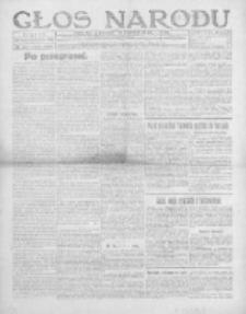 Głos Narodu 1919, Nr 257