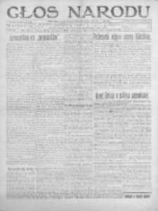 Głos Narodu 1919, Nr 314