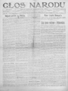 Głos Narodu 1919, Nr 316