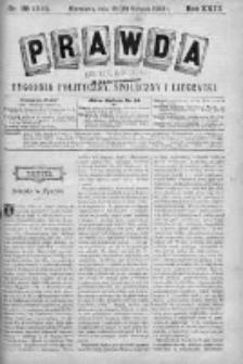 Prawda. Tygodnik polityczny, społeczny i literacki 1903, Nr 35