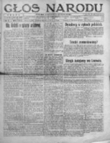 Głos Narodu 1920, Nr 6