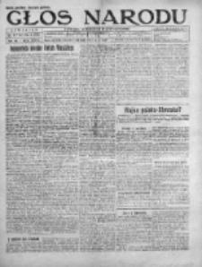 Głos Narodu 1920, Nr 20