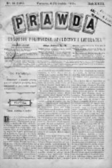 Prawda. Tygodnik polityczny, społeczny i literacki 1903, Nr 51